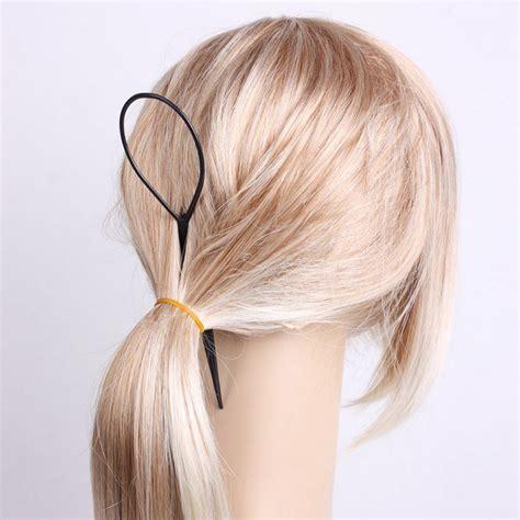 Mapepe Hair Black 2 Pcs 2 pcs topsy hair styler hair style hair snare