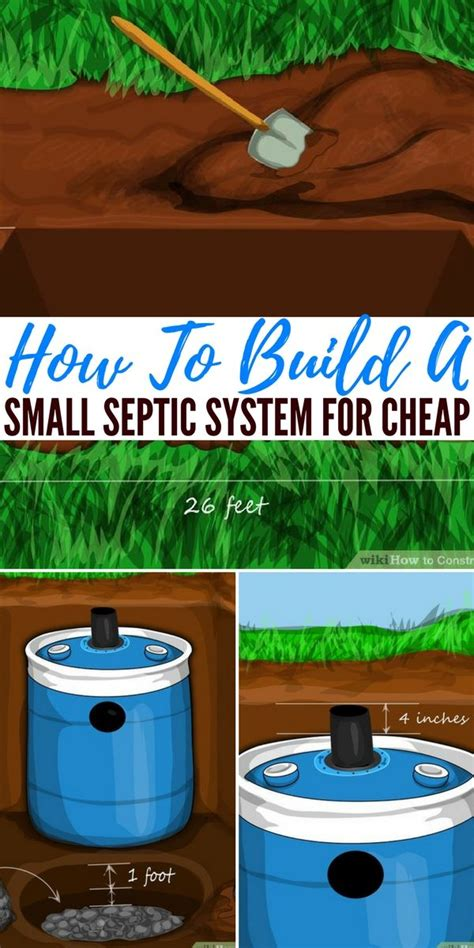 Small Septic System For Cabin by 25 Best Ideas About Build Your Own Cabin On