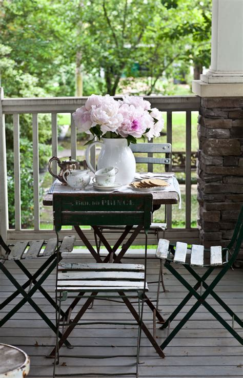 Small Porch Table by Simplied Summer Style Cedar Hill Farmhouse