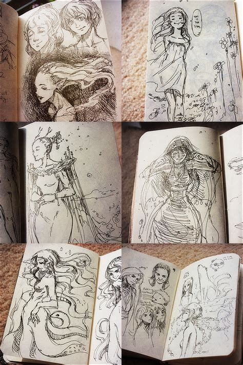 qinni sketchbook ink pen sketches by qinni on deviantart