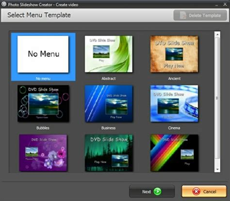 dvd menu template how to burn dvd slideshow