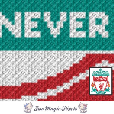 liverpool knitting patterns liverpool football club c2c graph crochet twomagicpixels
