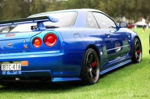 Nissan Gtr R34 Specs Nissan Skyline R34 Gt R V Spec At The All Japan Day