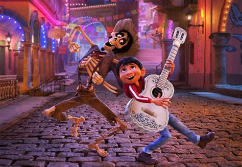 coco hector new coco image featuring miguel and hector in the pixar film