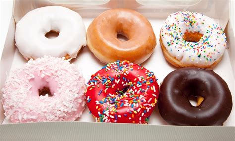 Small Fresh N Fancy 4pcs one small coffee and donut fresh fancy doughnuts groupon