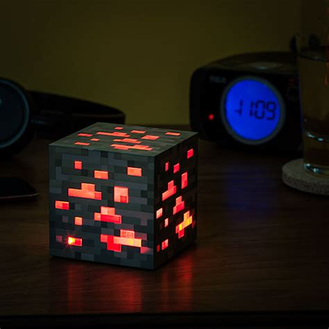 Bright Lamps For Bedroom by Minecraft Light Up Redstone Ore Additional Image