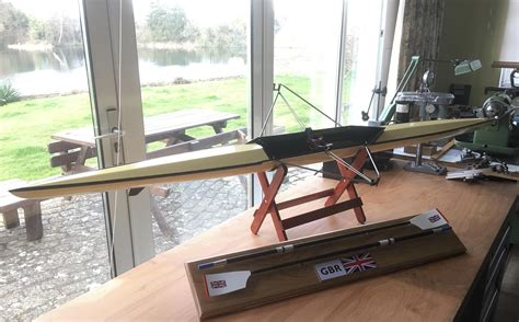 model sculling boat empacher design 1 4 scale rowing - Empacher Sculling Boat