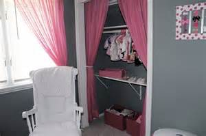 used curtains instead of closet doors i it