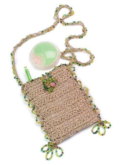 crochet beaded bag pattern miscellaneous crochet easy crochet patterns free