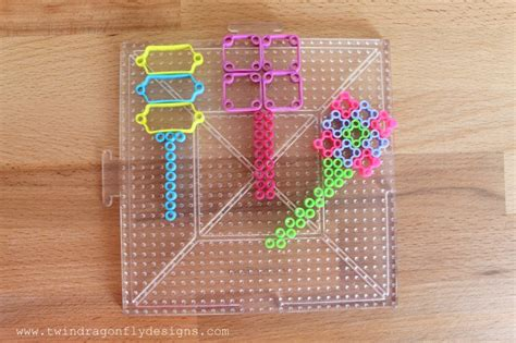 how to iron perler perfectly perler bead wands 187 dragonfly designs
