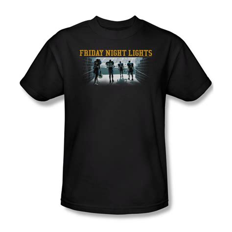 Friday Lights Shirt Stadium Black T Shirt Friday