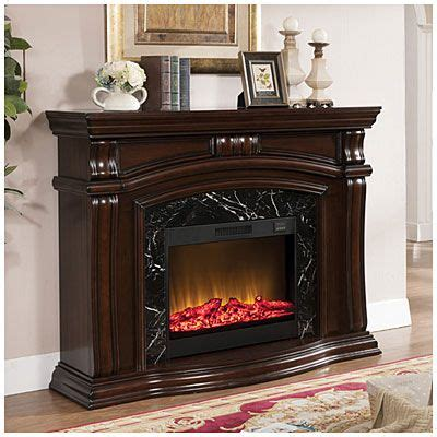 62 Quot Grand Cherry Fireplace At Big Lots For The Home Big Lots Fireplace