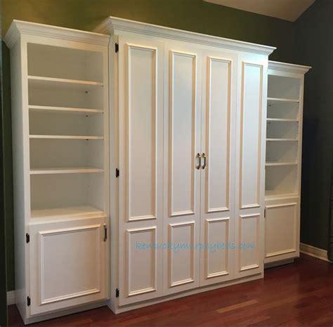 white murphy bed bookcase best 25 murphy bed ikea ideas on diy murphy