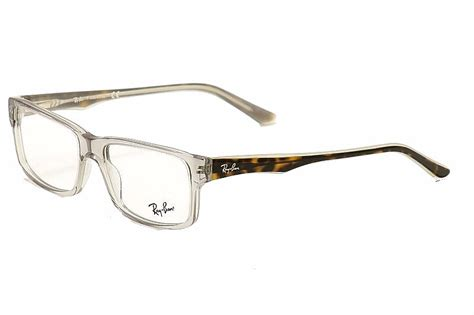 rayban eyeglasses 5245 5007 clear ban optical frame