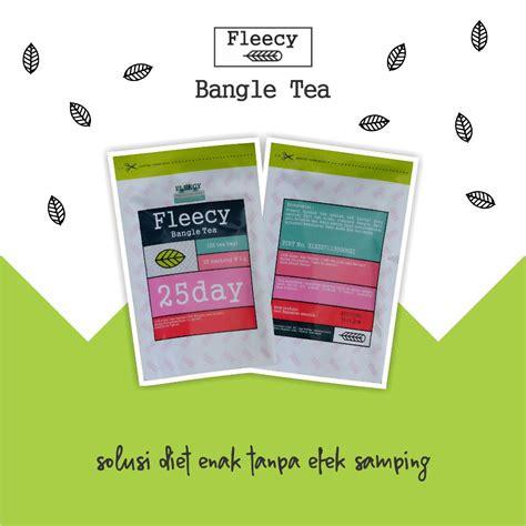 Teh Fleecy Bangle Tea by Jual Fleecy Bangle Tea Produk Teh Pelangsing Berkualitas