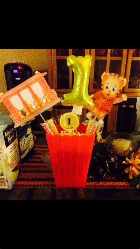 tiger centerpieces 253 best images about daniel tiger birthday on