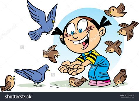 feeding birds clipart clipground