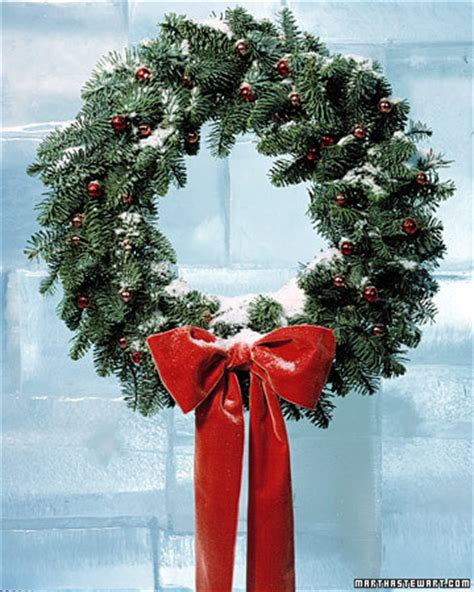 wreath martha stewart