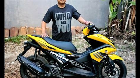 Modifikasi Aerox 155 Kuning by Foto Modifikasi Yamaha Aerox 155 2018 Harianindo