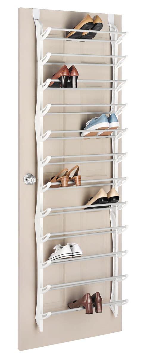 the door shoe storage view larger