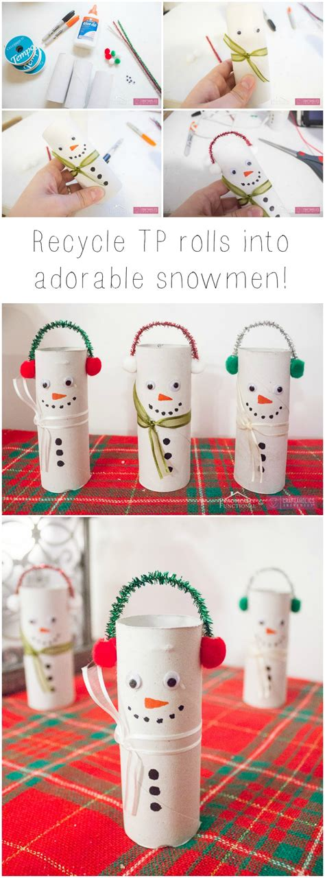 How They Make Toilet Paper - craftaholics anonymous 174 diy toilet paper roll snowmen