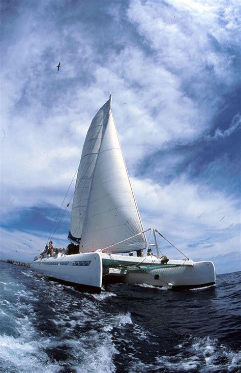 catamaran of ship catamaran ship in the galapagos