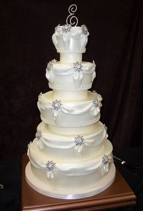 wedding cake drapes pin golden drape chocolate wedding cake flickr photo