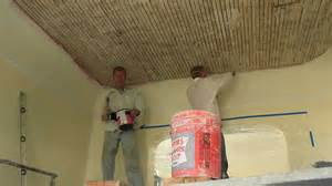 Ceiling Techniques How To Plaster A Ceiling Interior Plastering Techniques