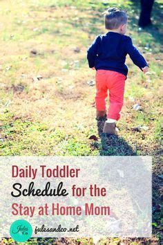 25 best ideas about toddler schedule on