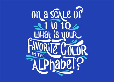 favorite color favorite color in the alphabet t shirt snorgtees