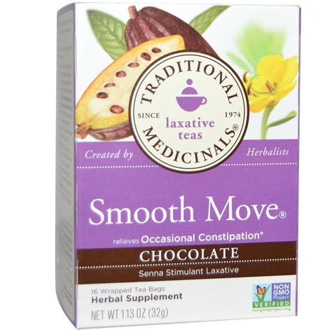Smooth Move Detox by Organic Smooth Move Laxative Tea Weight Loss Berry