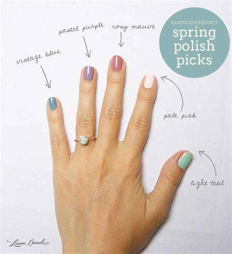 what is an appropriate spring nail polish color for a woman over 60 nail files my spring polish picks lauren conrad