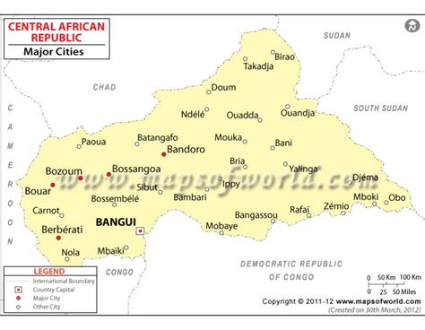 republic map with cities buy central republic cities map