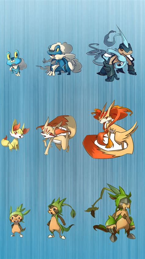 characters evolution  pokemon  iphone background