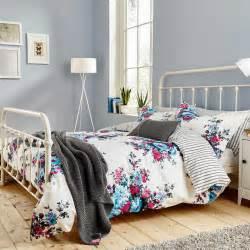 Echo Design Duvet Joules Bedding Charlotte Floral Single Duvet Cover At