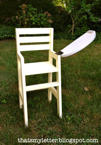 ana white doll high chair diy projects