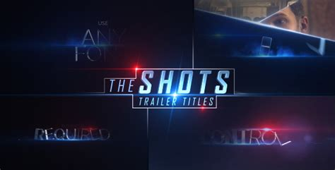 after effects trailer templates the trailer titles by fliorlock videohive