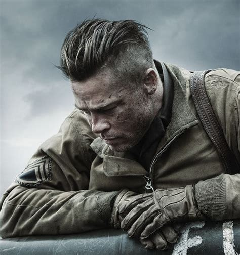 fury guys haircuts how to get brad pitt s fury hairstyle many more cool