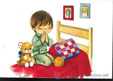 imagenes de niños orando caricatura postal constanza ni 241 o rezando 7320 31 b a 241 o comprar