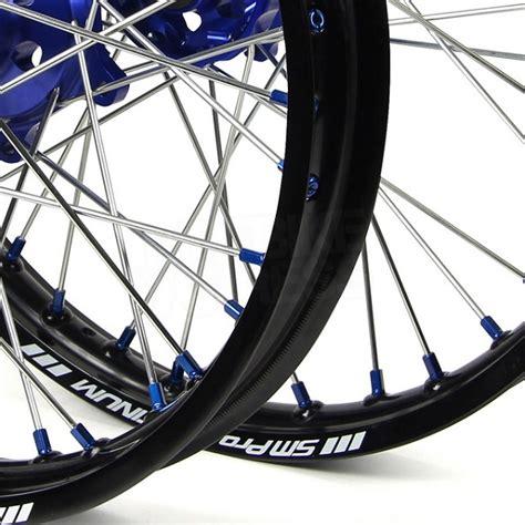 wheels motocross bikes sm pro platinum motocross wheel set yamaha black black