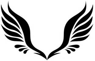 Simple Wing Outline by Simple Wings Clipart Best
