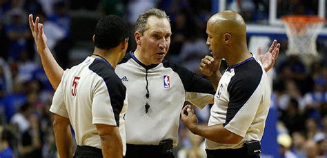 Mba Referees by Nba Ref Report Has Merits But Not Enough New York