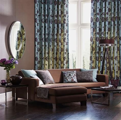 Drapes To Go 53 Living Rooms With Curtains And Drapes Eclectic Variety