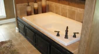 photos bathroom tub tile designs  featured a really nice bathroom with custom tile around the bathtub