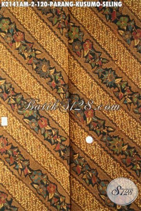 Kain Batik Parang Klitik batik klasik halus kombinasi tulis kain batik parang