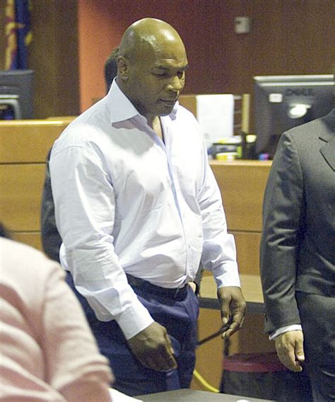 Mike Tyson Indicted On Charges In Arizona by Tyson Jailed For Possession Daily Mail