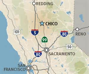 Map Of Chico State by About Chico State Csu Chico