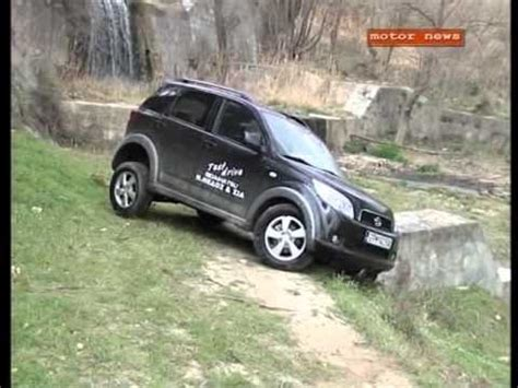daihatsu terios off road daihatsu terios off road test youtube