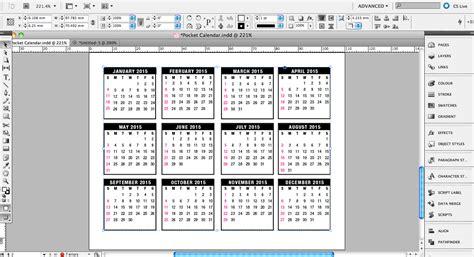 rk design calendar 2015 tutorial pocket calendar design 2015 187 saxoprint blog uk