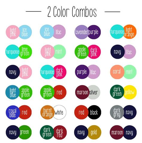 best 2 color combinations 40 best images about colour combos on pinterest favor